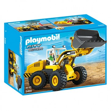 Excavator, PLAYMOBIL Construction