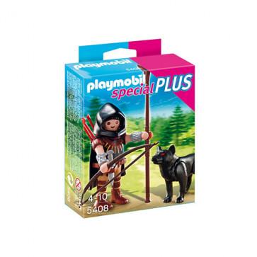 Vanator cu lup, PLAYMOBIL Special Plus