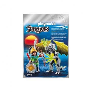 Dragonul luminii cu luptator, PLAYMOBIL Dragons