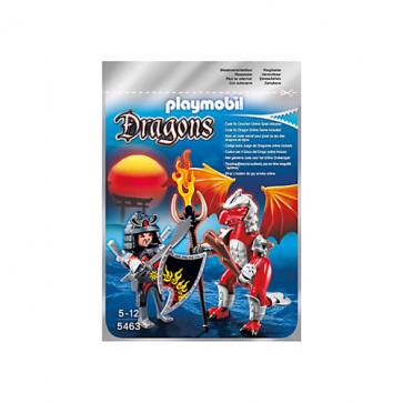 Dragonul focului cu luptator, PLAYMOBIL Dragons