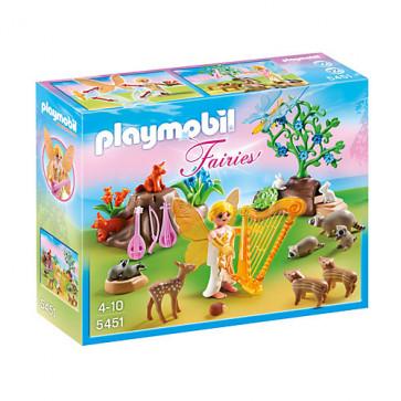 Zana muzicii si animalele padurii, PLAYMOBIL Fairies