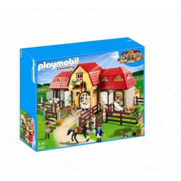 Ferma mare cu padoc, PLAYMOBIL Pony Farm