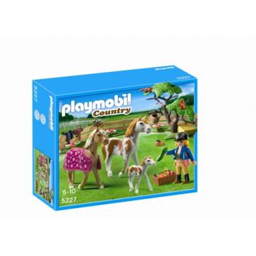 Padoc cu cai, PLAYMOBIL Pony Farm