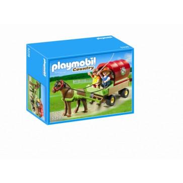 Ponei cu trasura, PLAYMOBIL Pony Farm