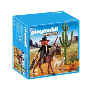 Serif cu cal, PLAYMOBIL Western