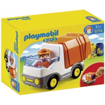 Camion deseuri, PLAYMOBIL 1.2.3