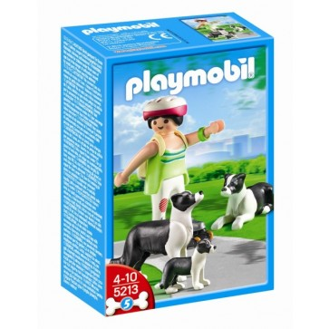 Caine collie cu pui, PLAYMOBIL Life in the City