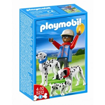 Caine dalmatian cu pui, PLAYMOBIL Life in the City