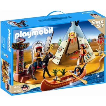 Super set tabara amerindienilor, PLAYMOBIL