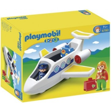 Avion personal, PLAYMOBIL 1.2.3