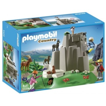 Alpinisti si animale montane, PLAYMOBIL Alpine