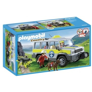 Masina salvamontistilor, PLAYMOBIL Alpine