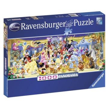 Puzzle personajele Disney, 1000 piese, RAVENSBURGER