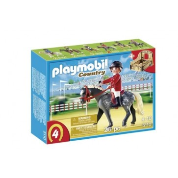 Calaret cu cal si grajd, PLAYMOBIL Pony Farm