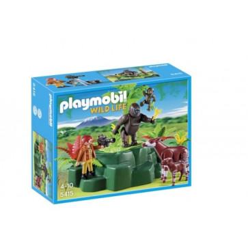 Gorile si okapi, PLAYMOBIL Wild Life