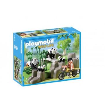 Ursi panda in padure, PLAYMOBIL Wild Life