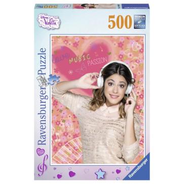 Puzzle Violetta iubeste muzica, 500 piese, RAVENSBURGER Puzzle Copii