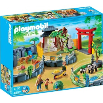 Animale asiatice la zoo, PLAYMOBIL Zoo