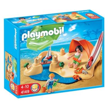 Set vacanta la plaja, PLAYMOBIL Holidays