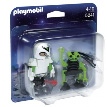 Astronaut si robot, PLAYMOBIL Top Agents