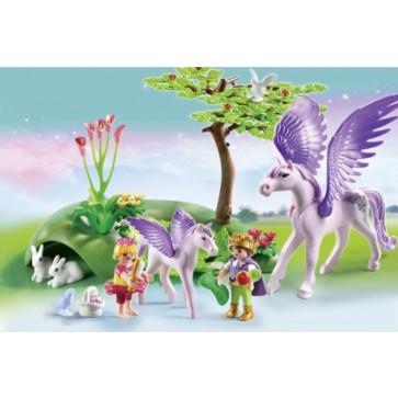 Copii si unicorni, PLAYMOBIL Princess Castle