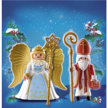 Sfantul Nicolae si ingeras, PLAYMOBIL Christmas