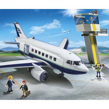 Avion de pasageri si marfa, PLAYMOBIL City Action
