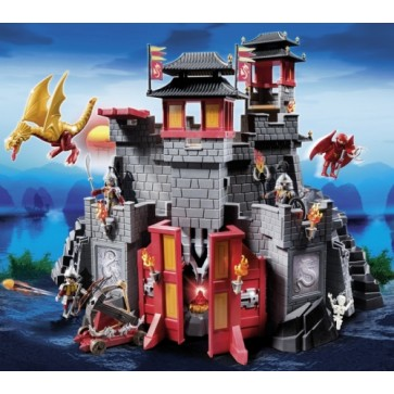 Marele castel asiatic, PLAYMOBIL Dragons