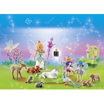 Calendar Craciun - Tinutul zanelor, PLAYMOBIL Christmas