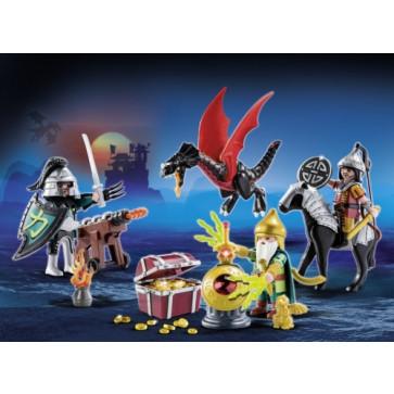 Calendar Craciun - Batalia dragonilor, PLAYMOBIL Christmas