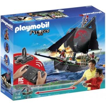 Nava piratilor cu motor subacvatic si telecomanda, PLAYMOBIL Pirates
