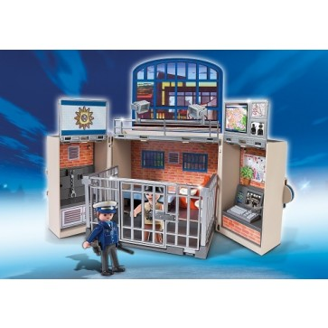 Statie de politie, PLAYMOBIL City Action