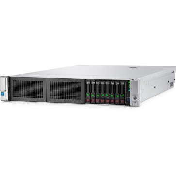 Server HP ProLiant DL380 Gen9 Rack 2U, Procesor Intel® Xeon® E5-2620 v4 2.1GHz Broadwell, 16GB RDIMM DDR4, fara HDD, SFF 2.5 inch, P440ar 2GB
