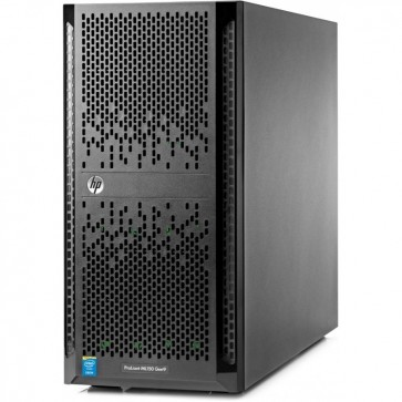 Server HP ProLiant ML150 Gen9 Tower 5U, Procesor Intel® Xeon® E5-2603 v4 1.7GHz Broadwell, 8GB RDIMM DDR4, no HDD, Smart Array B140i, LFF 3.5 inch, PSU 550W