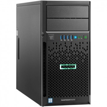 Server HP ProLiant ML30 Gen9 Tower 4U, Procesor Intel® Xeon® E3-1220 v5 3.0GHz Skylake, 4GB RDIMM DDR4, no HDD, LFF 3.5 inch, Smart Array B140i, 350W