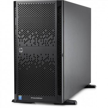 Server HP ProLiant ML350 Gen9 Tower 5U, Procesor Intel® Xeon® E5-2620 v3 2.4GHz Haswell, 1x 16GB RDIMM DDR4, fara HDD, SFF 2.5 inch, P440ar/2GB
