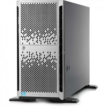 Server HP ProLiant ML350 Gen9 Tower 5U, 2x Procesor Intel® Xeon® E5-2630 v3 2.4GHz Haswell, 32GB RDIMM DDR4, fara HDD, SFF 2.5 inch, P440ar/2G, 2x 800W