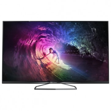 Televizor Smart LED Ultra HD 3D, 102 cm, PHILIPS 40PUS6809/12