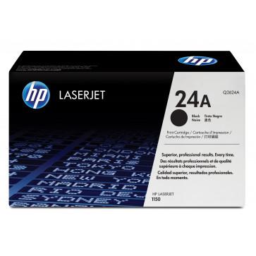 Toner, black, Nr. 24A, HP Q2624A