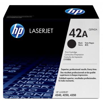 Toner, black, Nr. 42A, HP Q5942A
