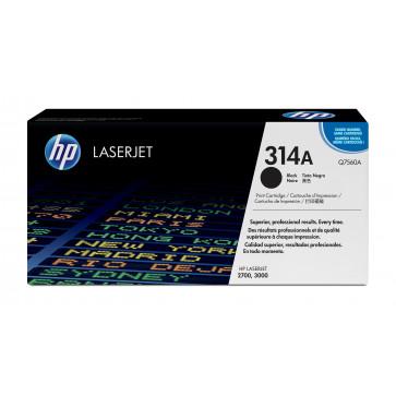 Toner, black, nr. 314A, HP Q7560A