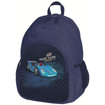 Rucsac ergonomic, scoala primara, HERLITZ Race Car