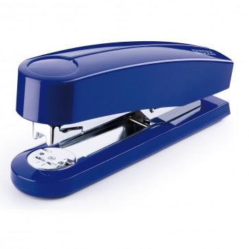 Capsator de birou metalic, pentru maxim 40 coli, capse 24/6, albastru, NOVUS B4