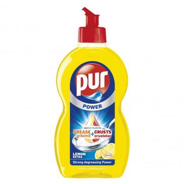 Detergent de vase PUR Duo Power Lemon, 450ml
