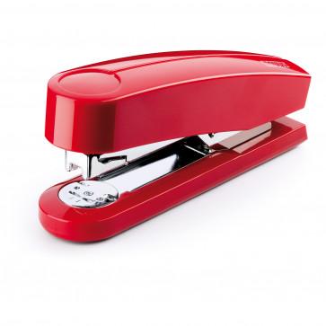 Capsator de birou metalic, pentru maxim 40 coli, capse 24/6, rosu, NOVUS B4