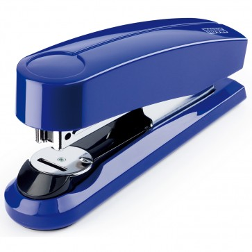 Capsator de birou, pentru maxim 30 coli, capse 24/6, albastru, NOVUS B3FC