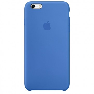 Husa de protectie APPLE pentru iPhone 6s Plus, Silicon, Royal Blue