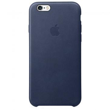 Husa de protectie APPLE pentru iPhone 6s, Piele, Midnight Blue