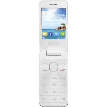 Telefon mobil, dual-sim, white, ALCATEL 2012D