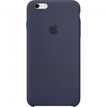 Husa de protectie APPLE pentru iPhone 6s Plus, Silicon, Midnight Blue